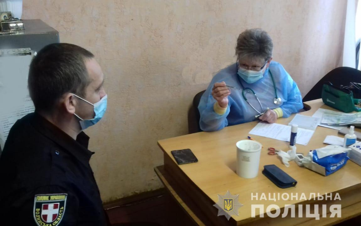 Особовий склад Ківерцівського відділення поліції долучився до профілактичного щеплення