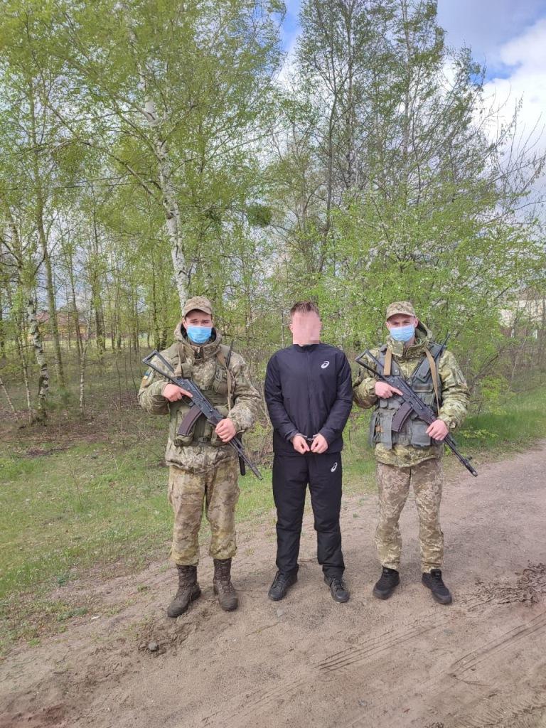 На Волині прикордонники затримали громадянина Росії
