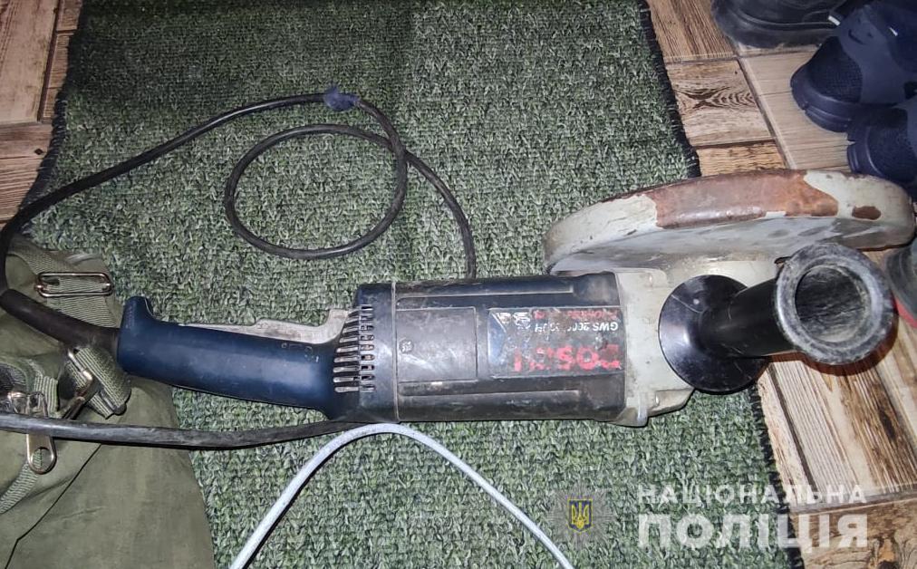 На Ратнівщині розкрили крадіжку електроінструментів