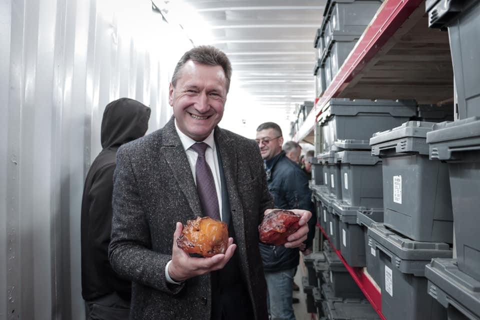 У Лесиному виші готуватимуть фахівців з обробки бурштину
