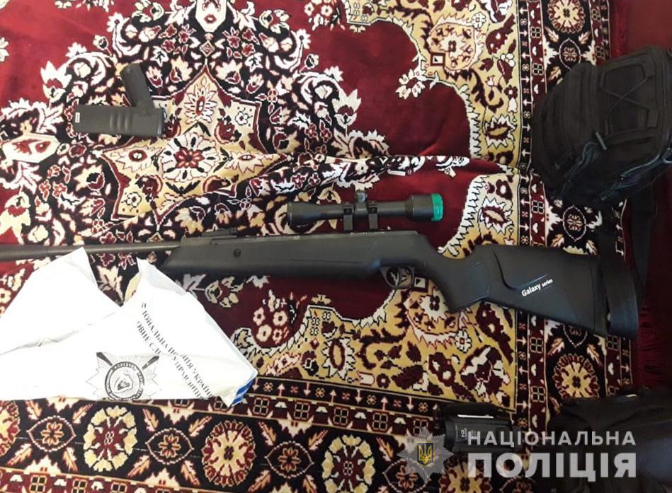 До семи років може отримати волинянин за незаконне зберігання зброї