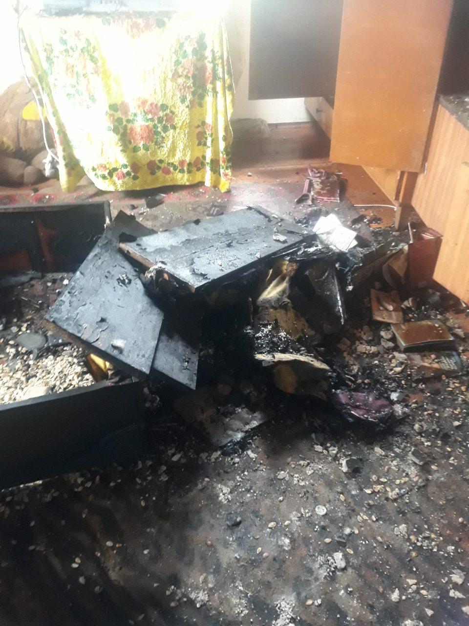 На Горохівщині згорів будинок