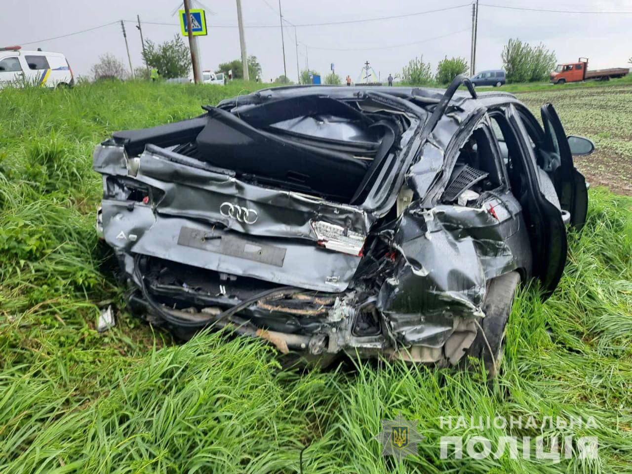 На Горохівщині поліція з'ясовує обставини автопригоди, в якій постраждало троє осіб