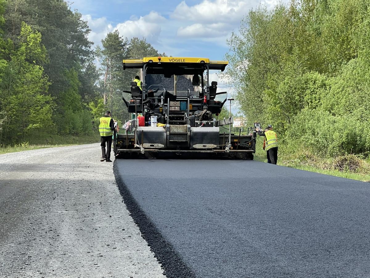 На Волині розпочали реконструкцію дороги від Шацька до Любомля