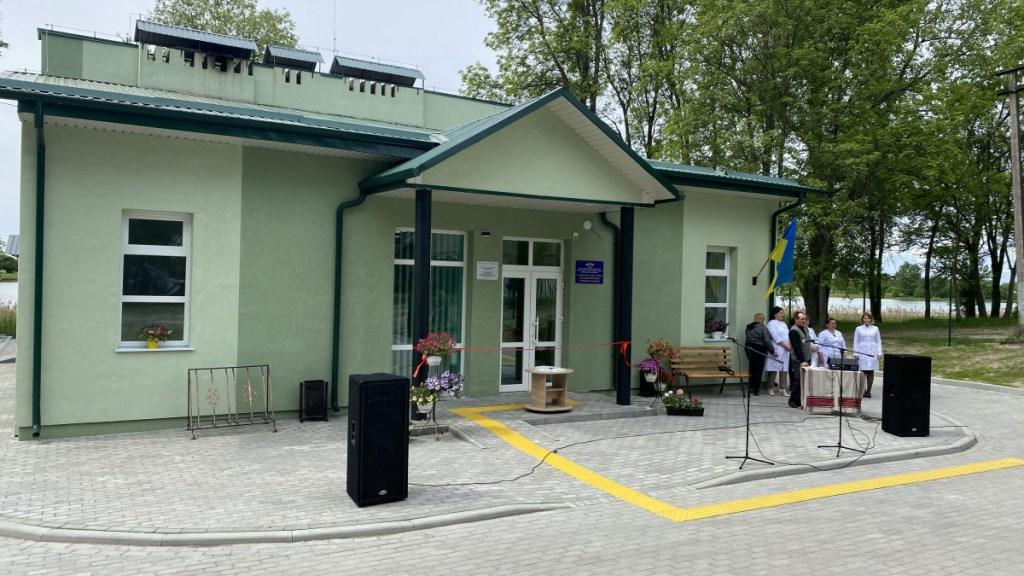 У селі Любешівської громади відкрили амбулаторію