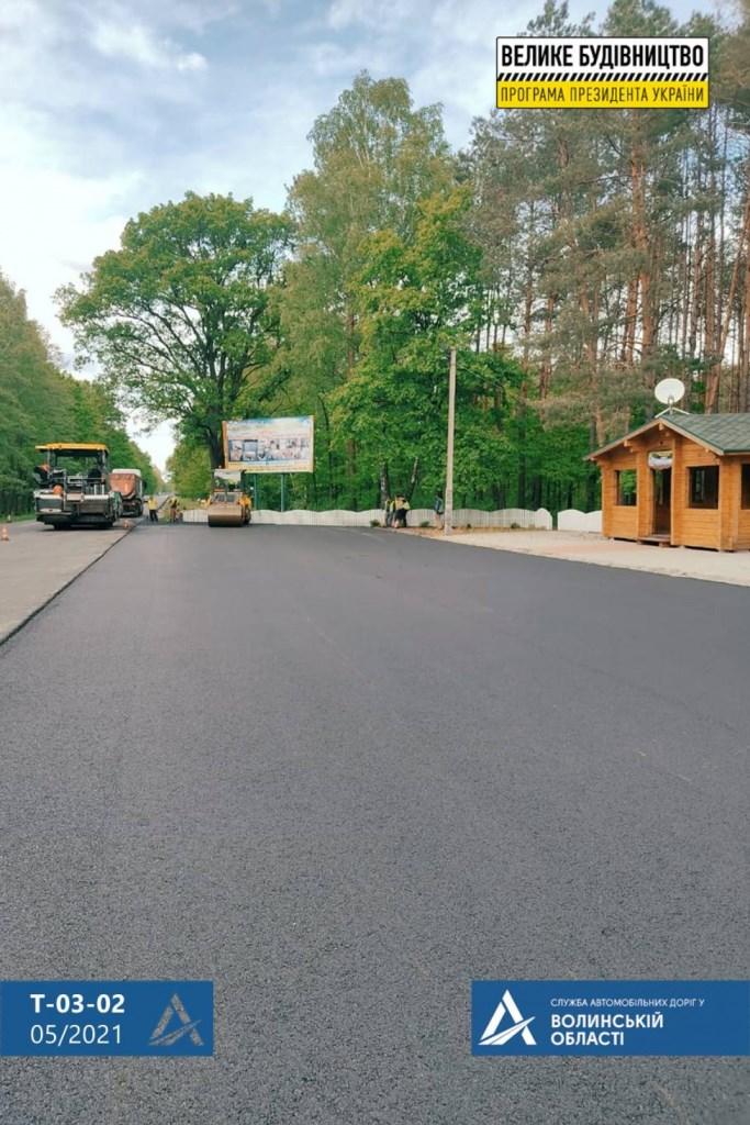 У Ковельському районі відновили автошлях між селами Піща та Положеве