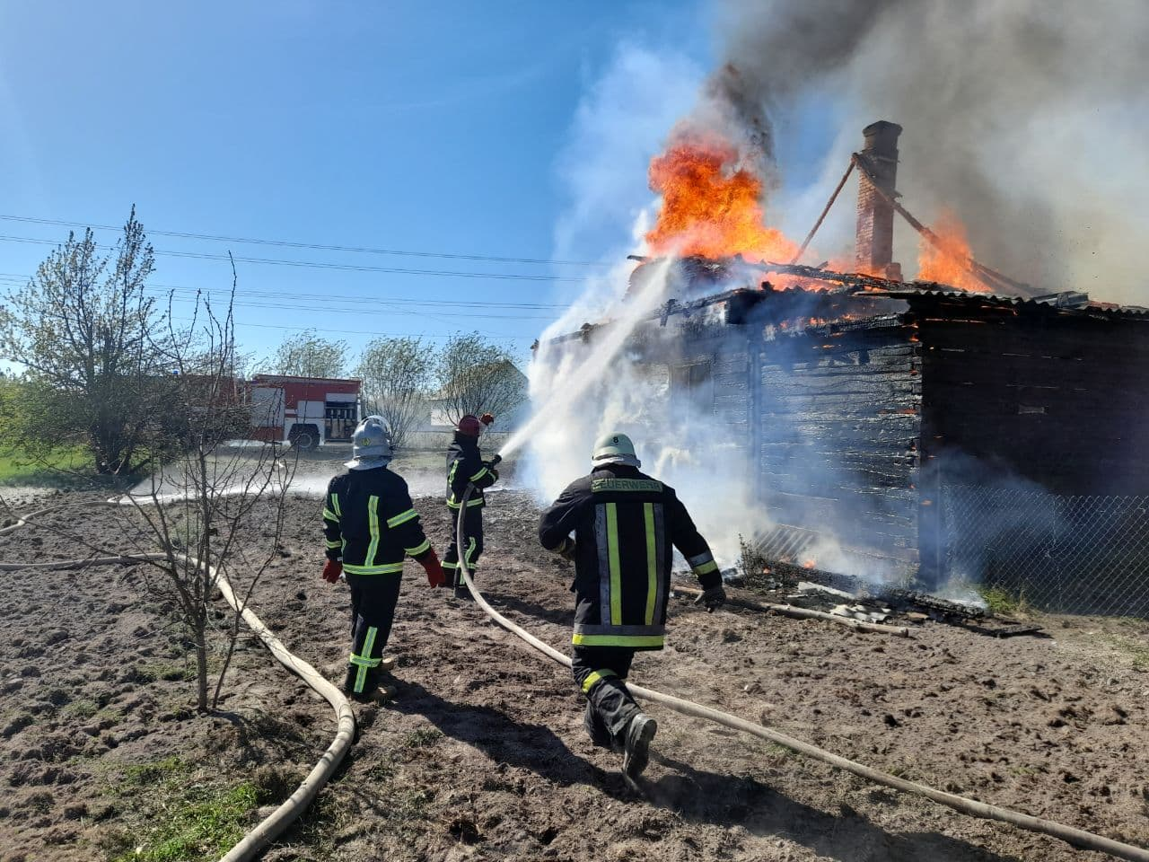 За добу на Волині ліквідували шість пожеж
