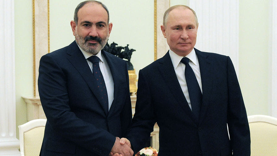 Глава уряду Вірменії попросив Путіна про військову допомогу