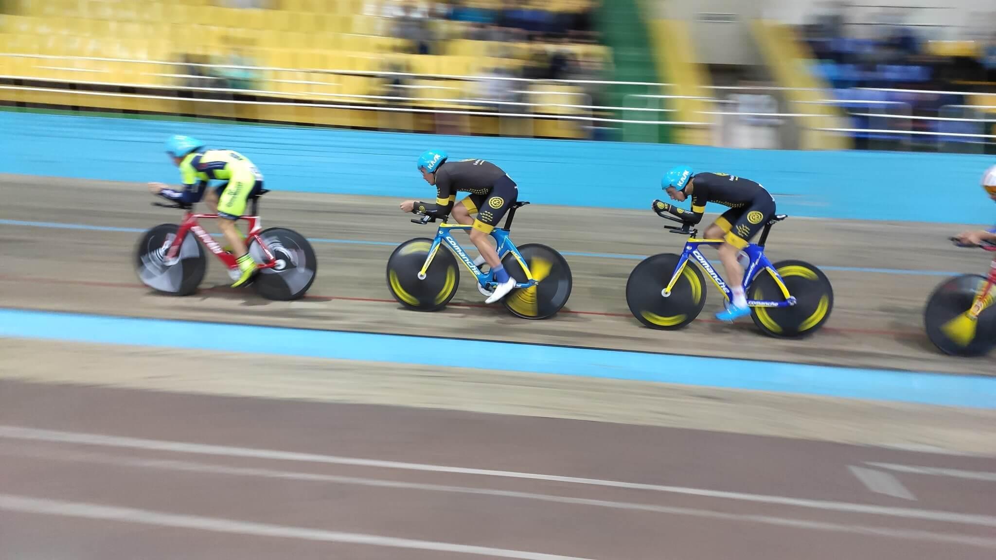 Волинські спортсменки вибороли три медалі на чемпіонаті України з велоспорту