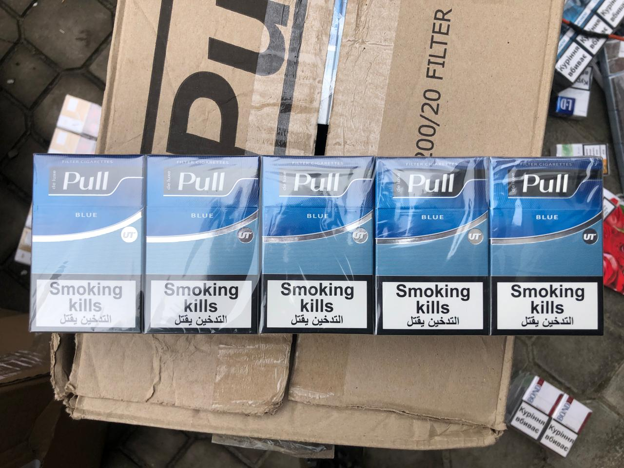 80 ящиків сигарет вилучили правоохоронці у жительки Ковеля