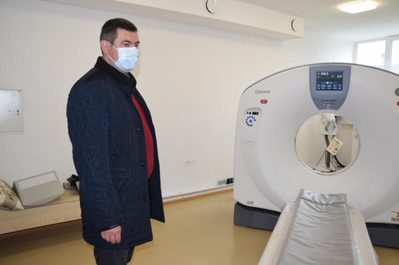 У Любомльському ТМО запрацював новий комп'ютерний томограф