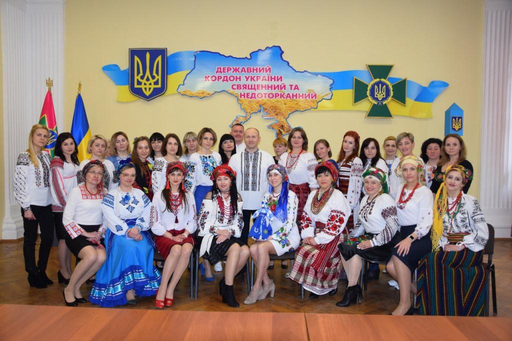 Прикордонники Луцького загону долучилася до відзначення Дня вишиванки