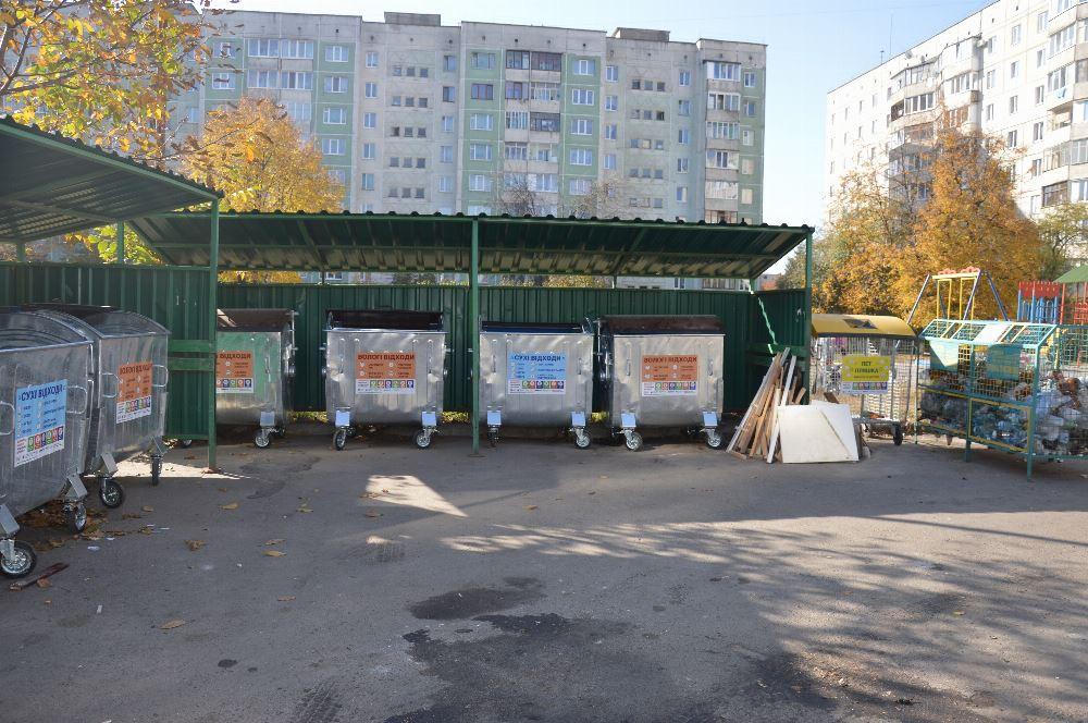 Лучанам нагадують про заборону складування великогабаритних відходів біля смітників
