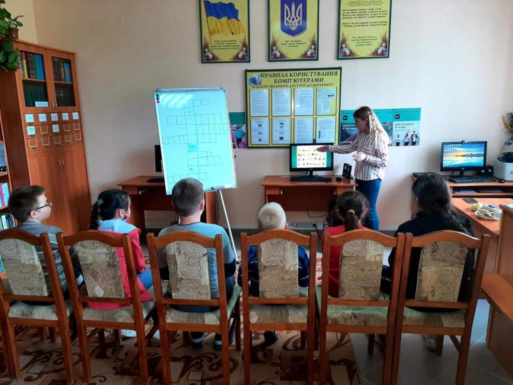 Школярка із села поблизу Луцька організувала клуб вивчення англійської мови