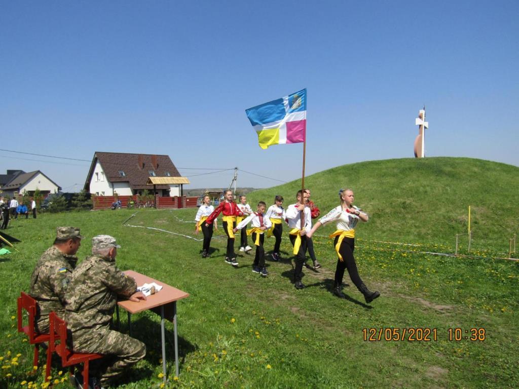 У селі поблизу Луцька змагалися джури