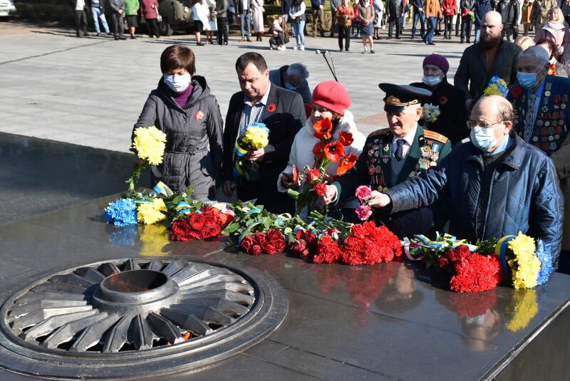 У Луцьку відзначили 76-ту річницю перемоги над нацизмом у Другій світовій війні