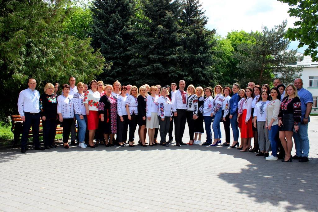 Володимир-Волинська міська рада долучилась до загальнонаціонального флешмобу Дня вишиванки