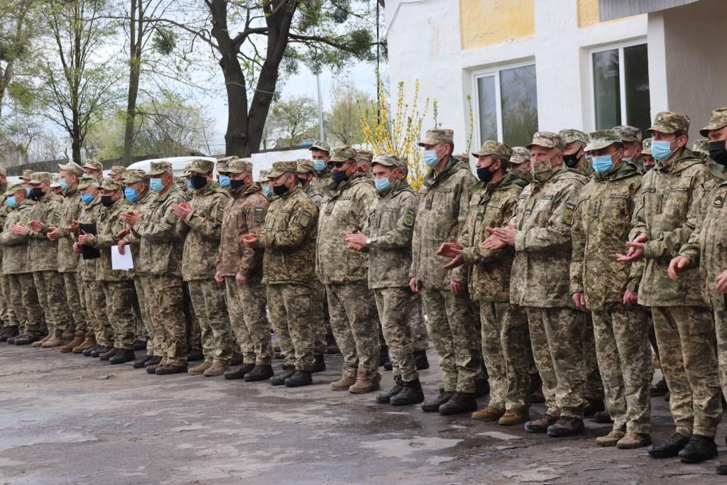У Володимирі-Волинському відзначили повернення військовослужбовців зенітно-ракетного полку