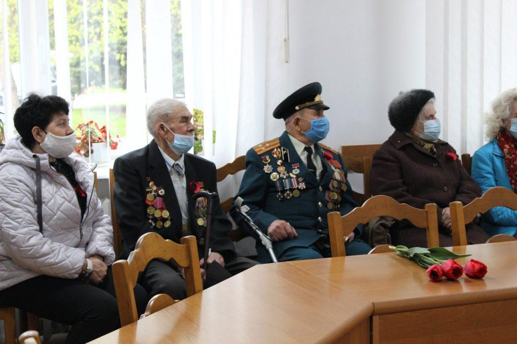 У Володимирі-Волинському організували урочисте засідання за участю ветеранів