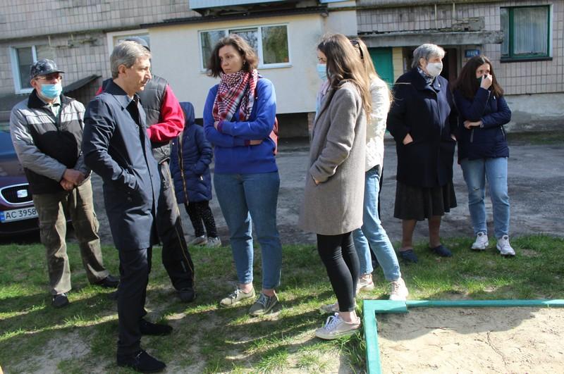 У Ковелі планують відремонтувати двір на вулиці Шевченка