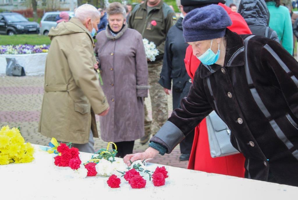 У Нововолинську відбулися урочистості з нагоди Дня пам'яті та примирення