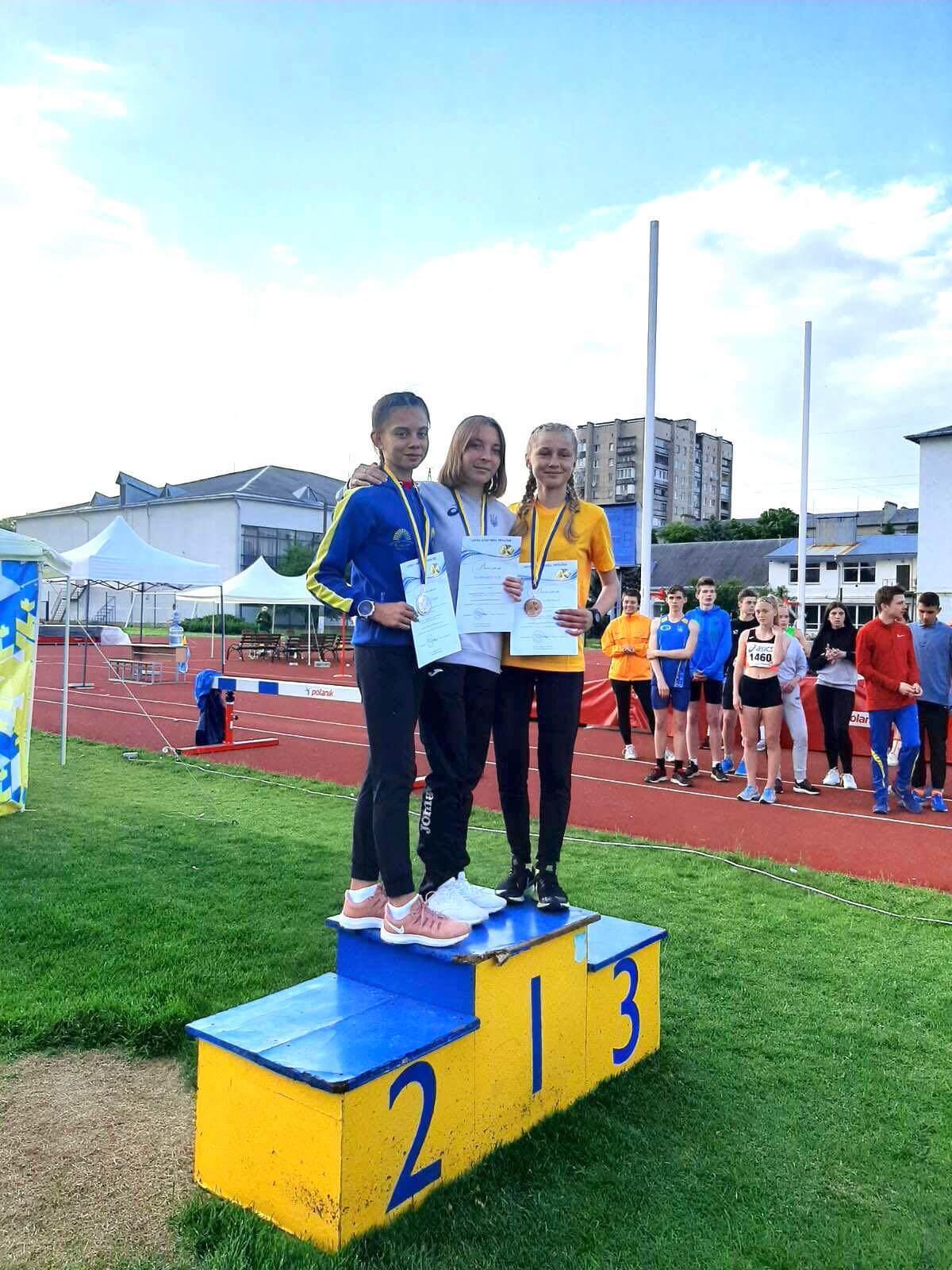 Волинські легкоатлети здобули шість медалей на чемпіонаті України