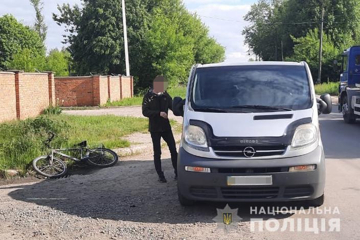 У Луцьку в ДТП постраждав велосипедист