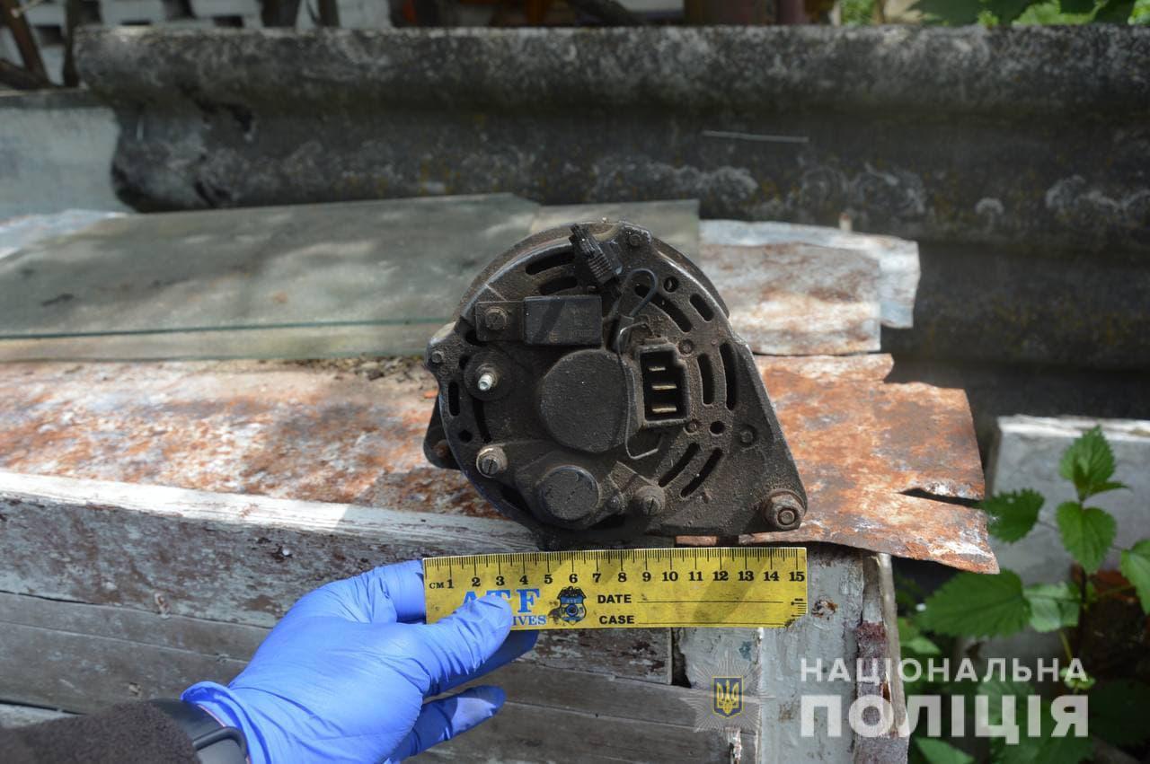 Велосипед та інструменти: в Іваничах поліцейський офіцер громади розкрив крадіжку з гаража