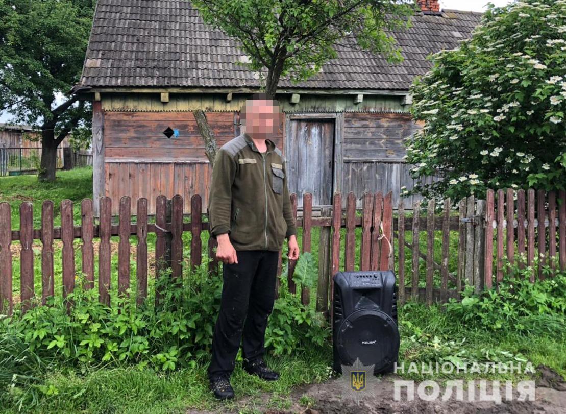 На Любомльщині поліція викрила будинкового злодія