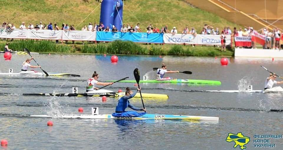Волинські веслувальники здобули дві бронзові медалі на чемпіонаті Європи