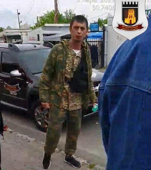 Луцькі муніципали заявили, що проти них вчинили провокації на вулиці Замковій