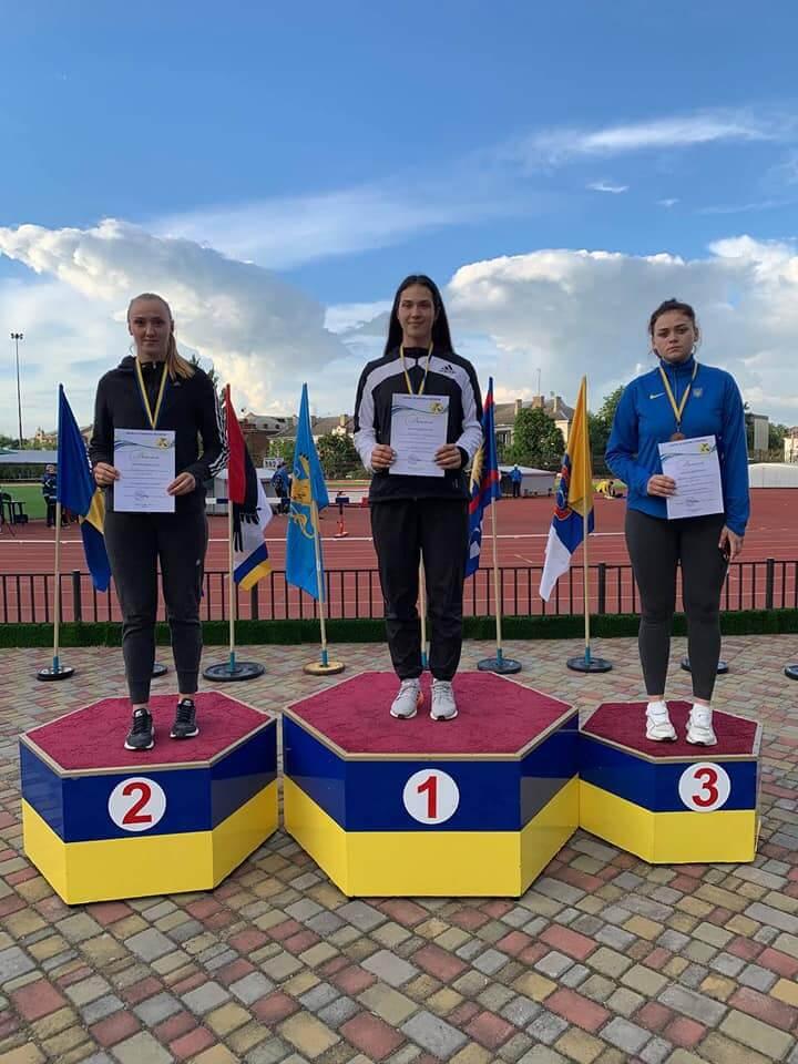 Волинські легкоатлети здобули три медалі на чемпіонаті України