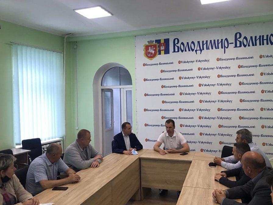 У Володимирі створили управління інфраструктури
