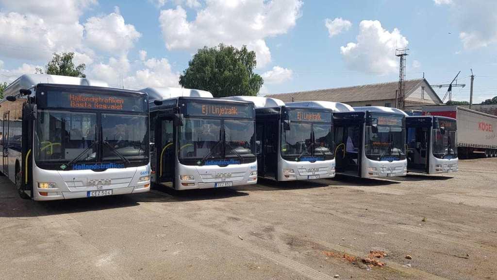 На маршрутах у Луцьку побільшає автобусів екологічного стандарту Євро-5
