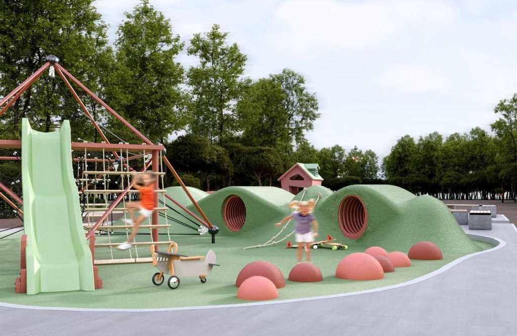 На одному з проспектів Луцька облаштовуватимуть урбан-парк за понад три мільйони