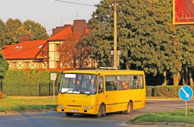 Волинська ОДА теж заявила, що не регулює вартість проїзду на приміських маршрутах
