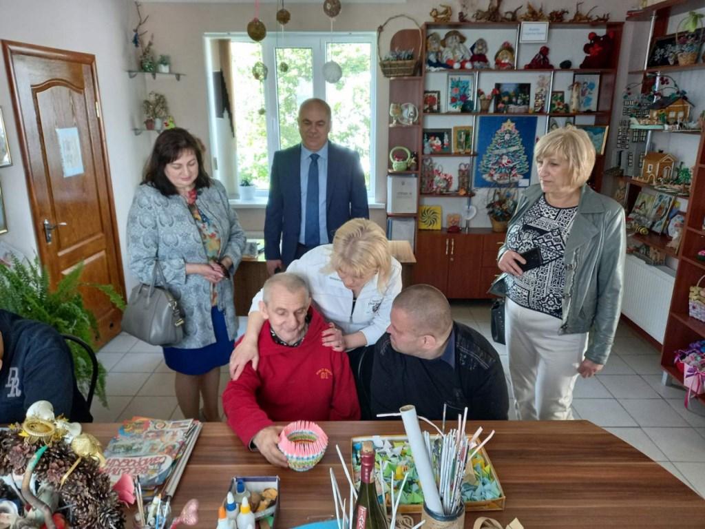 Представники Волинської ОДА відвідали Горохівський психоневрологічний інтернат