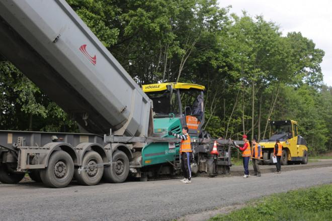 На Волині триває капітальний ремонт дороги між селами Ковельського району