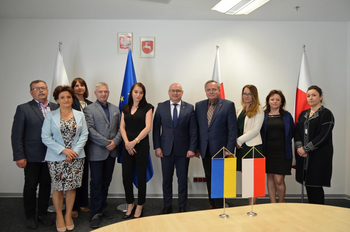 У Польщі обговорили перспективи поглиблення співробітництва Волині та Люблінського воєводства