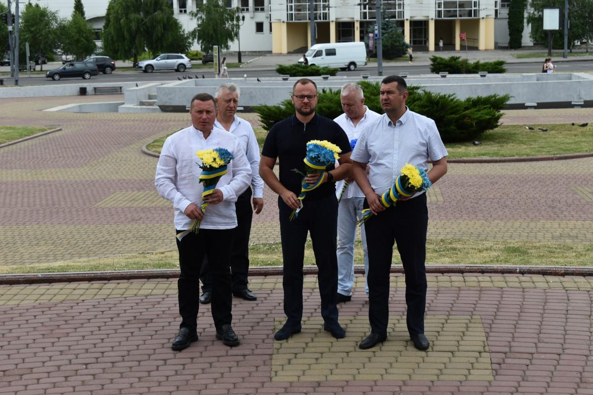 У Луцьку вшанували пам'ять борців за волю та незалежність України