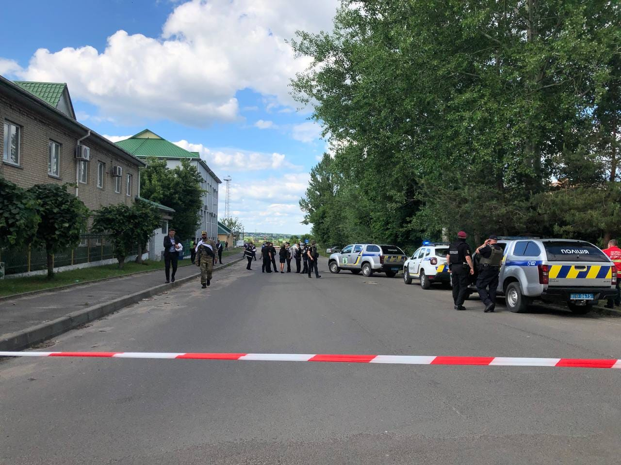 У Луцьку триває спеціальна поліцейська операція