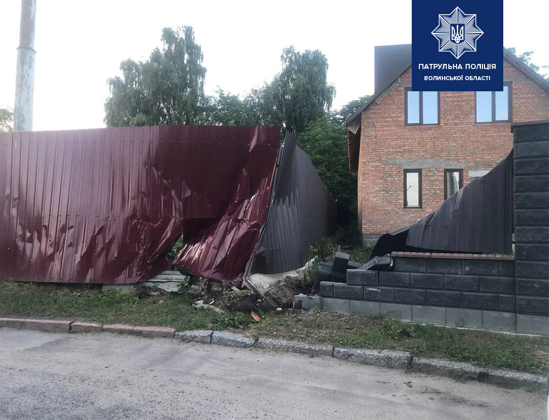 У Луцьку нетвереза водійка тролейбуса спричинила ДТП