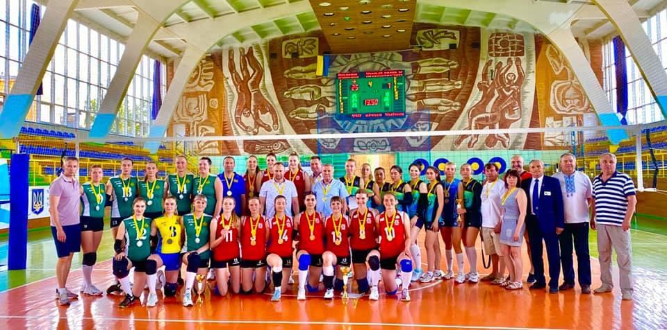 Команда з Луцька перемогла в ХVІ літній Універсіаді України з волейболу