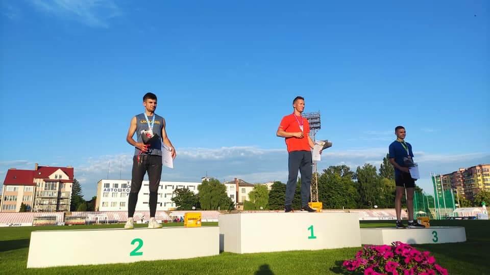 Хто переміг у чемпіонаті України з легкої атлетики у Луцьку