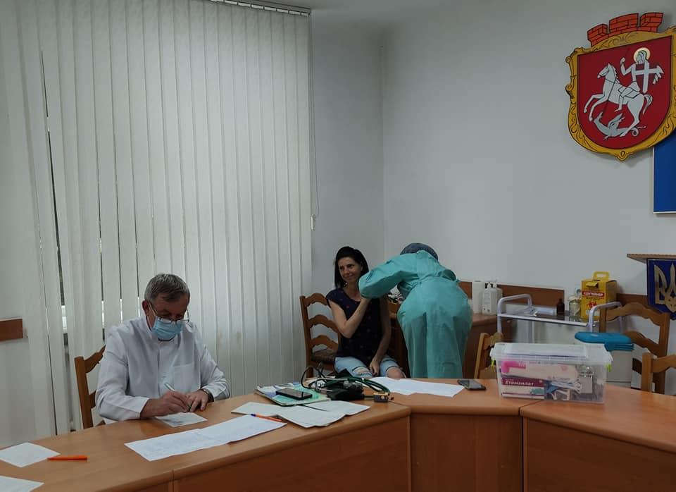 У Володимир-Волинській міськраді знову працюватиме центр вакцинації