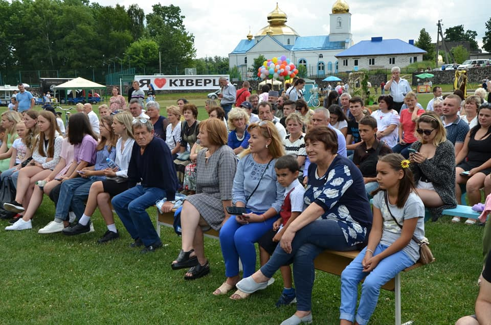 Ківерчан привітали із 70-літтям міста
