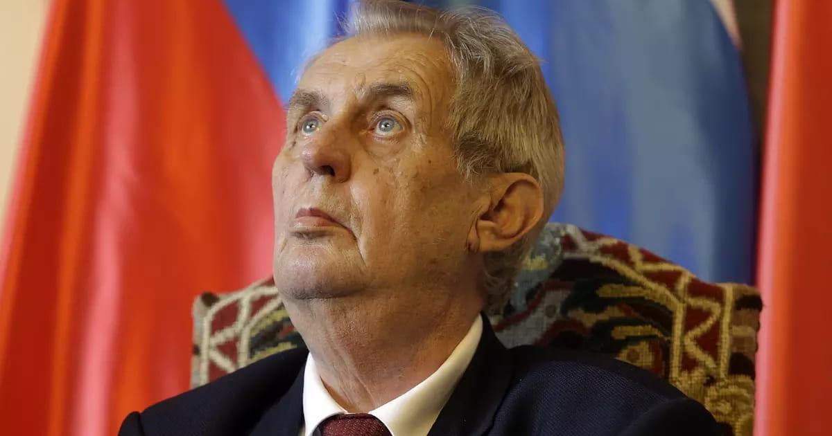 Сенат Чехії розгляне відсторонення Земана від посади президента