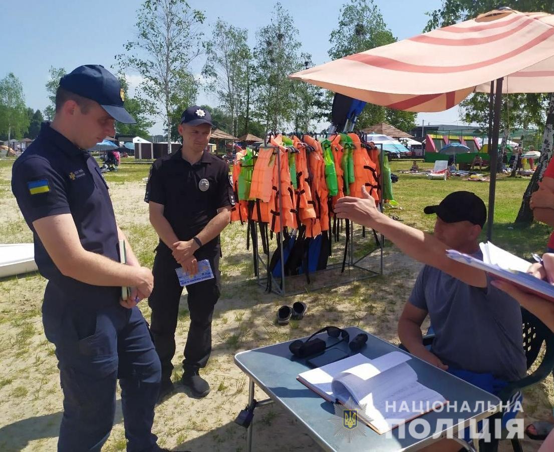 На Волині поліцейські нагадують відпочивальникам про безпеку на воді