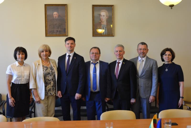 У Волиньраді відбулася зустріч із делегацією Литовської республіки