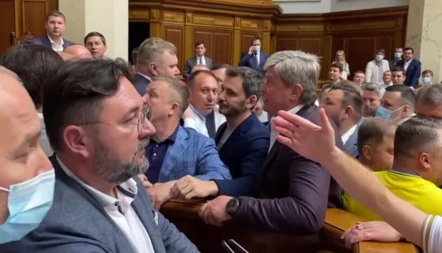 У Раді побилися Кива і Тищенко